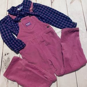 Amazing Vintage OshKosh Overall Set